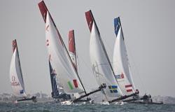Porto acolhe etapa da competição Extreme Sailing Series