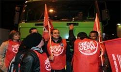 PSP chamada para afastar piquete de greve