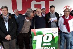 1.º de Maio: UGT exigiu cumprimento do acordo de concertação social
