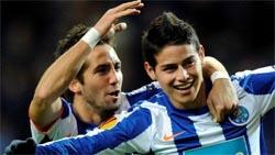 """James Rodríguez: """"não penso em mais nada a não ser no Porto"""""""