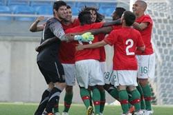 Europeu sub-19: Portugal venceu Estónia e defronta Espanha