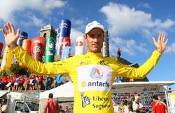 "Hugo Sabido exibe ""amarela"" na 5ª etapa da 'Volta'"