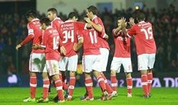 Taça de Portugal: Benfica vence Freamunde