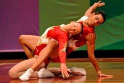 Prata portuguesa na Taça do Mundo de ginástica aeróbica