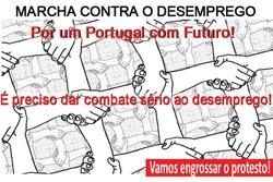 Porto: Marcha Contra o Desemprego no fim de semana