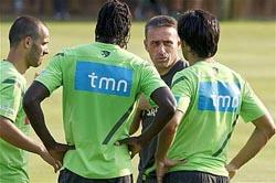Segundo treino da seleção sem Pepe e Ronaldo