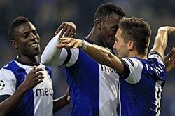 FC Porto goleia Zagreb e continua líder do Grupo A