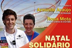 """Rosa Mota e Armindo Araújo apadrinham """"Natal Solidário"""" em Matosinhos"""