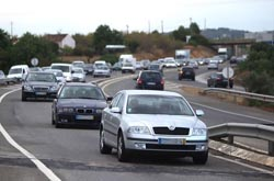 365 mortos nas estradas portuguesas desde janeiro