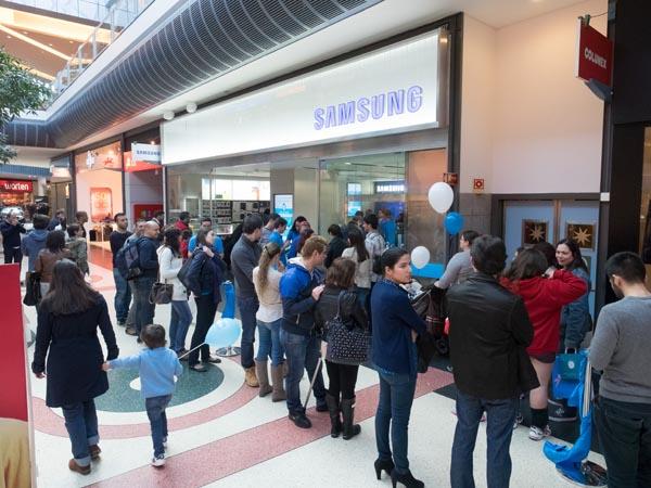 Samsung no Norteshopping