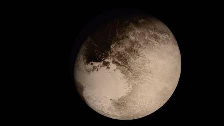 O espetacular Plutão