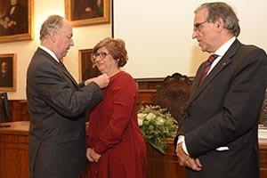 Vice-Reitora da U.Porto recebe Palmas Académicas do Estado francês