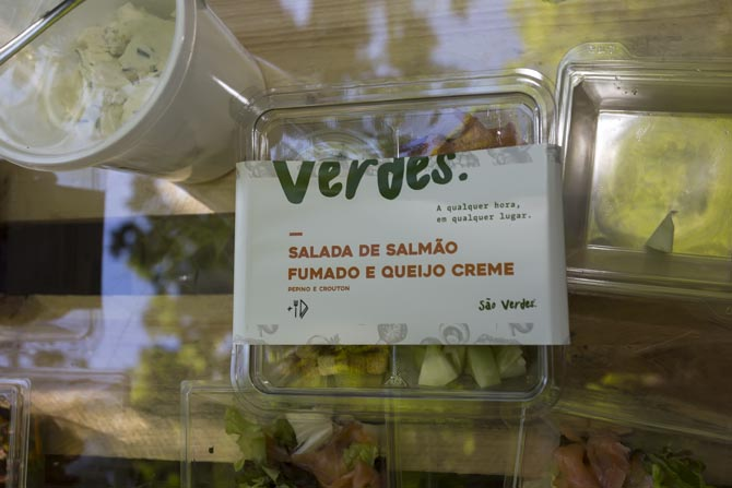 Saladas 'São Verdes'