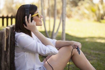 Terapia sonora para gerir níveis de stress