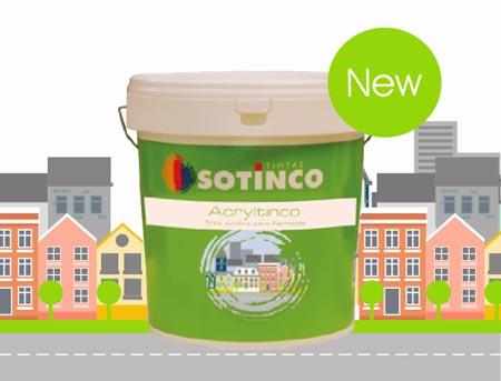 Acryltinco: nova tinta para fachadas