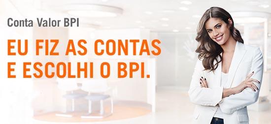 Nova Conta Valor BPI