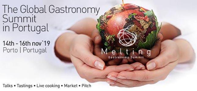 Está a chegar o Melting Gastronomy Summit