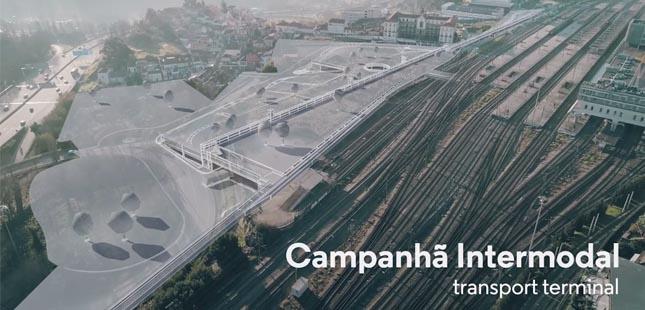Terminal Intermodal de Campanhã deve estar concluído em junho de 2021