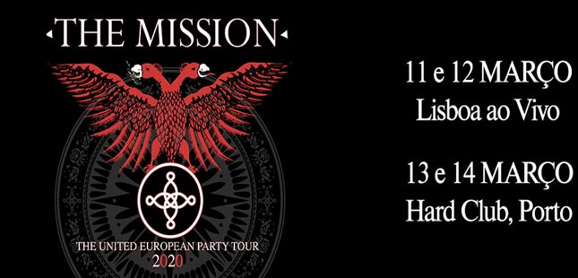 'The Mission' regressam a Portugal