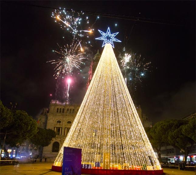 Porto inaugura árvore e iluminação de natal a 30 de novembro