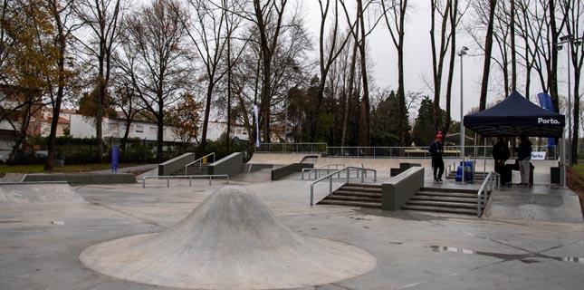 Skate Park do Porto vai ser ampliado