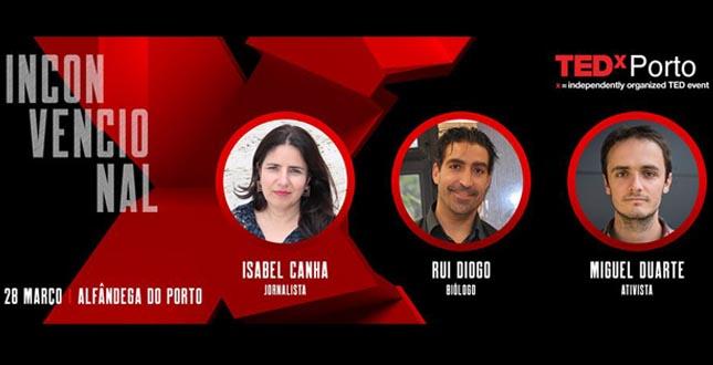 TEDxPorto anuncia os três primeiros oradores da edição de 2020