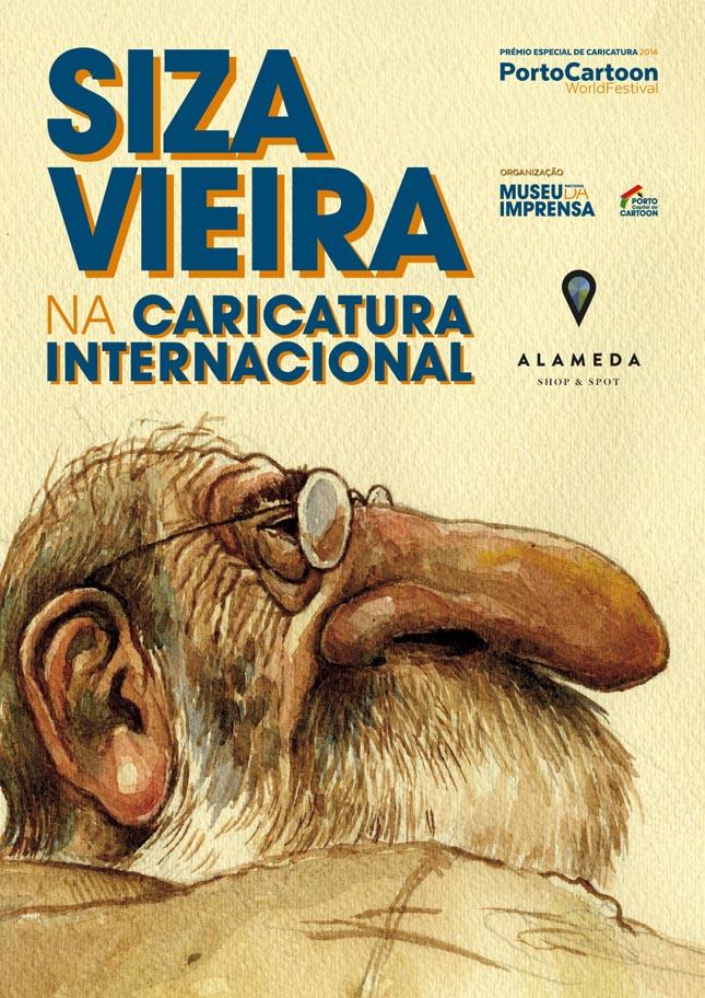 Siza Vieira homenageado traço a traço no Alameda Shop & Spot
