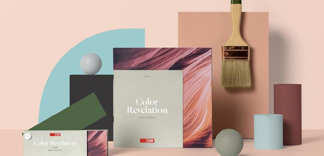 CIN revela as tendências de cor para 2020