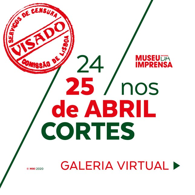 Exposição virtual '24/25 Abril nos Cortes'