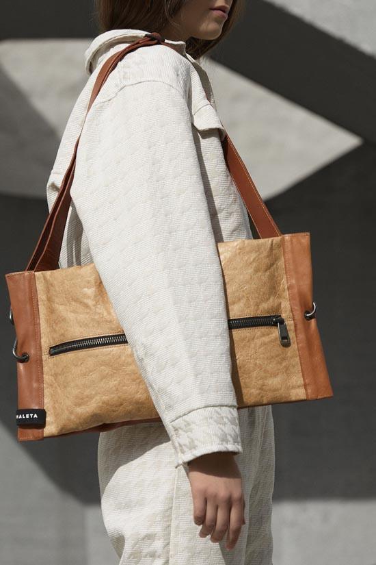 Marca portuguesa cria coleção de malas com matérias sustentáveis e recicláveis