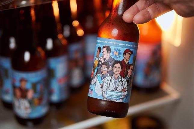Nortada lança cerveja de apoio à Cruz Vermelha