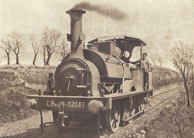 """""""Andorinha"""": a mais antiga locomotiva portuguesa está a ser restaurada"""