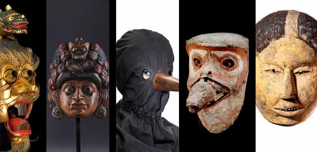 """Cinco museus portugueses unidos na exposição """"Um Mundo de Máscaras"""""""