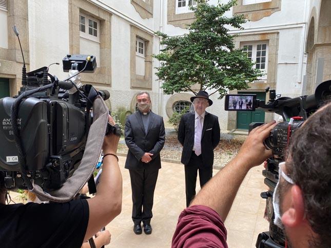 Porto: Comunidades católica e judaica doam 20 mil euros a instituições