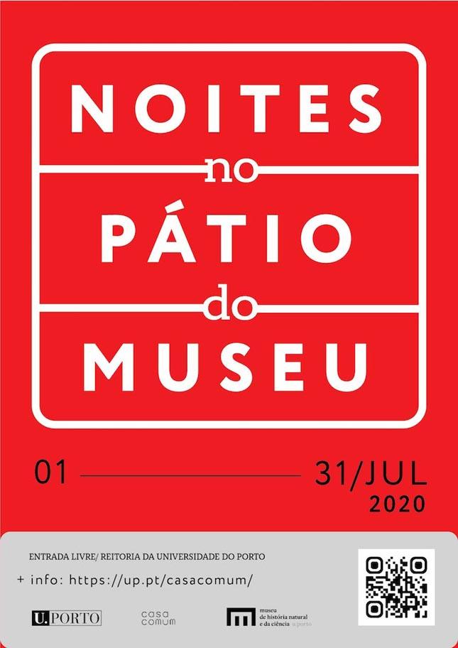 Noites do Pátio no MHNC-UP