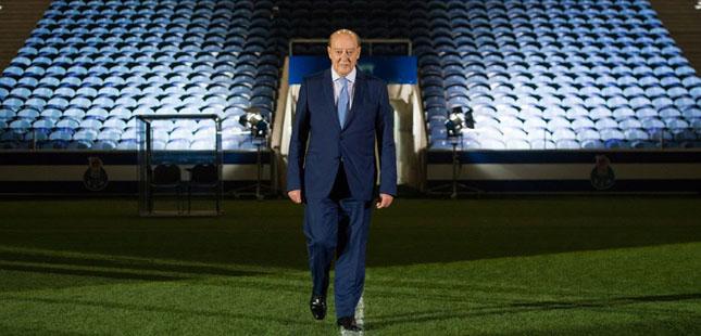 Pinto da Costa reeleito presidente do FC Porto