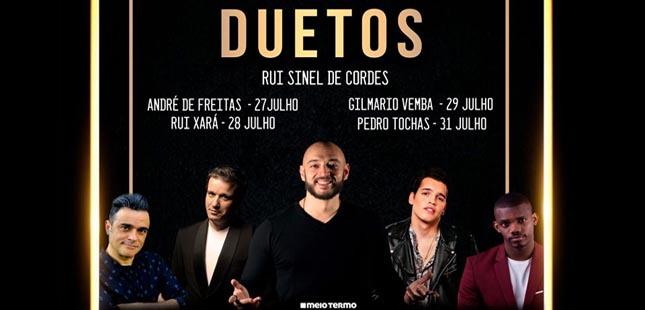"""Passatempo """"Duetos – Rui Sinel de Cordes"""""""