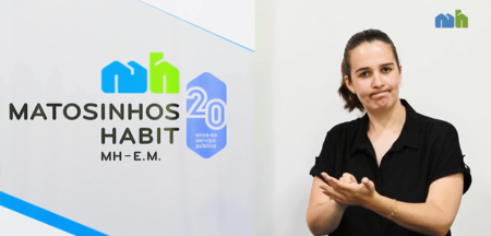 MatosinhosHabit disponibiliza intérpretes de língua gestual nos atendimentos
