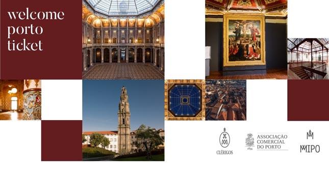 Torre dos Clérigos, Palácio da Bolsa e MMIPO lançam bilhete turístico conjunto