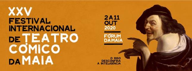Está a chegar o Festival Internacional de Teatro Cómico da Maia