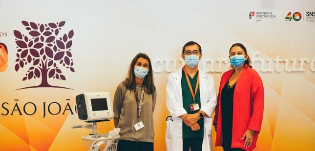 Ceetrus doa três ventiladores ao Centro Hospitalar Universitário São João