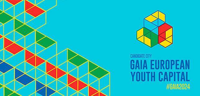 Gaia formaliza candidatura a Capital Europeia da Juventude