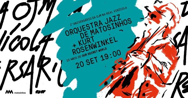 Orquestra Jazz de Matosinhos comemora 2.º aniversário na Real Vinícola