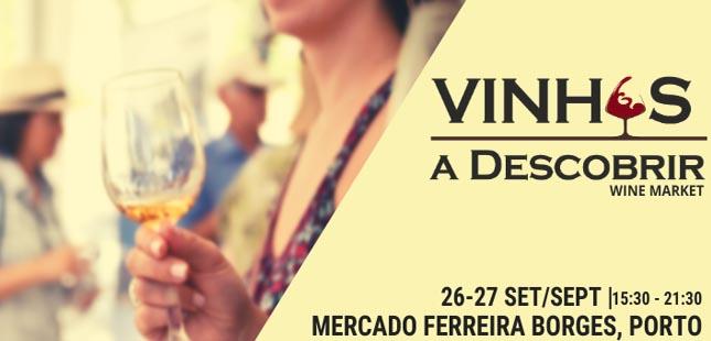 """""""Vinhos a Descobrir"""" no Mercado Ferreira Borges"""