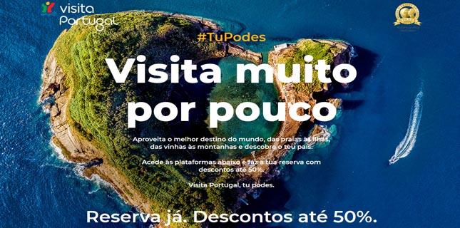 Campanha convida portugueses a redescobrir o país a preços acessíveis