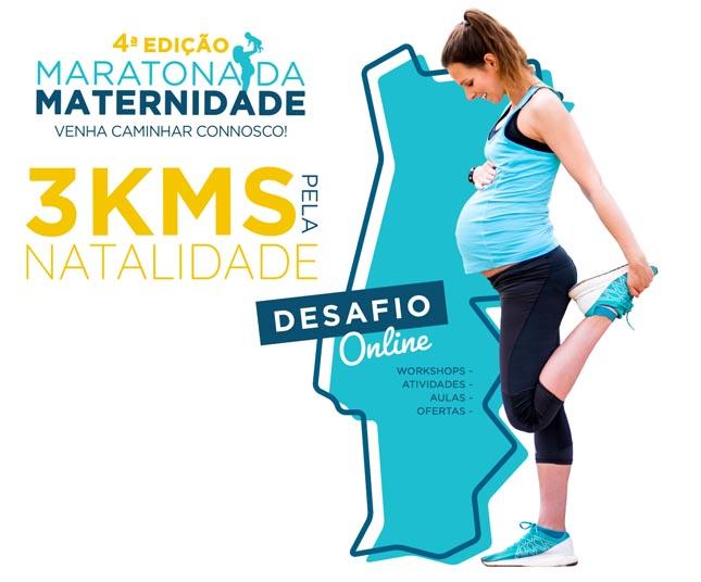 Norte convidado a participar na Maratona da Maternidade virtual