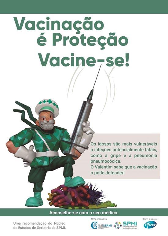 """Campanha """"Vacinação é proteção"""" dirigida a idosos"""