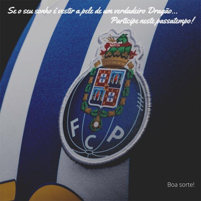 ALERTA NOVO PASSATEMPO Instagram: Camisola FC Porto