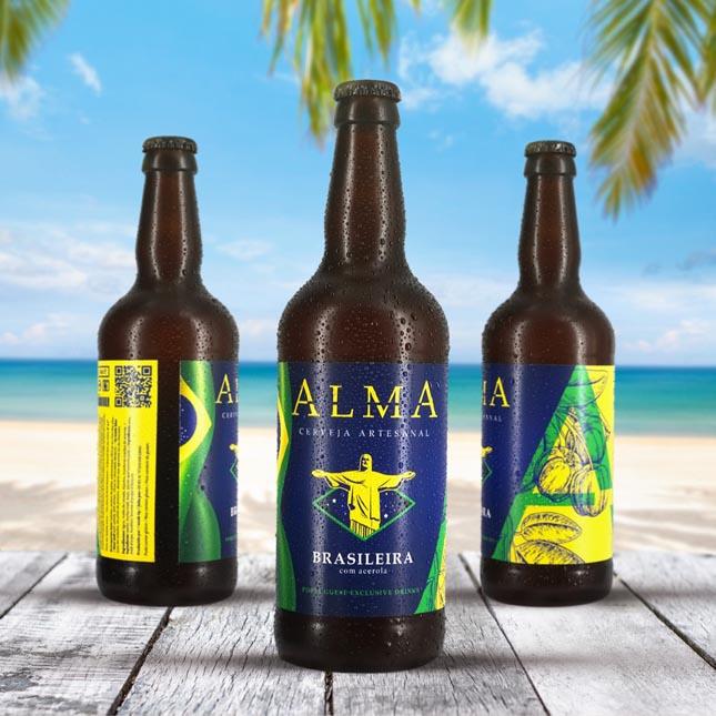 """""""Alma Brasileira"""", uma nova cerveja portuguesa"""