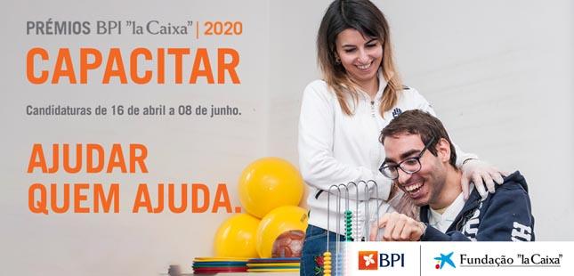 """11ª edição do Prémio BPI """"la Caixa"""" Capacitar apoiou 28 projetos no valor de 750 mil euros"""